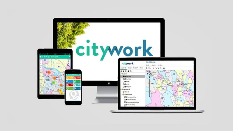 Bản đồ GIS phiên bản Web và phiên bản Mobile