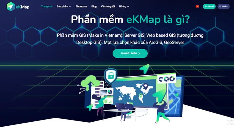 Phần mềm Hệ thống Thông tin Địa lý (GIS)