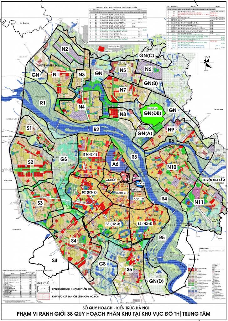 Bản đồ quy hoạch địa chính