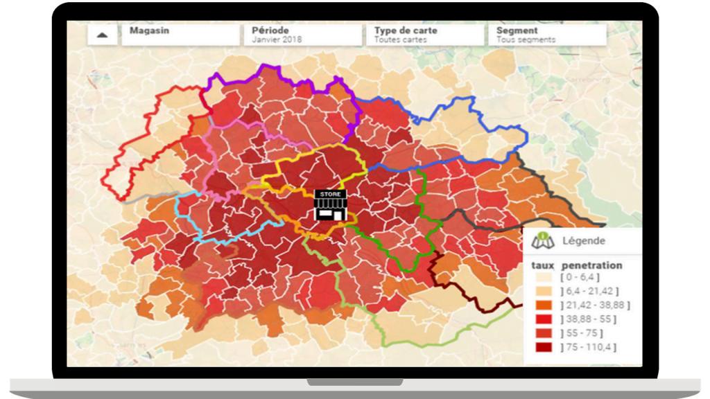 Dữ liệu thông tin về vị trí được ứng dụng như thế nào?