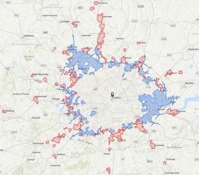 Bản đồ phân tích vùng lưu vực
