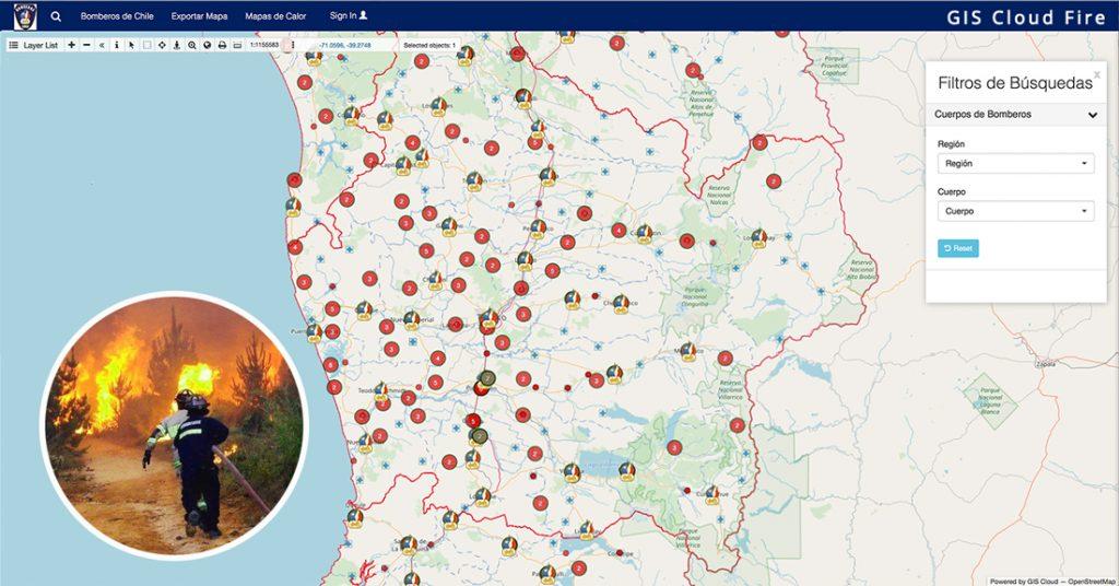 Bản đồ GIS ứng dụng trong cứu hỏa