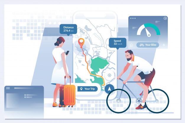 Bản đồ cung cấp hỗ trợ cho các hoạt động hàng ngày