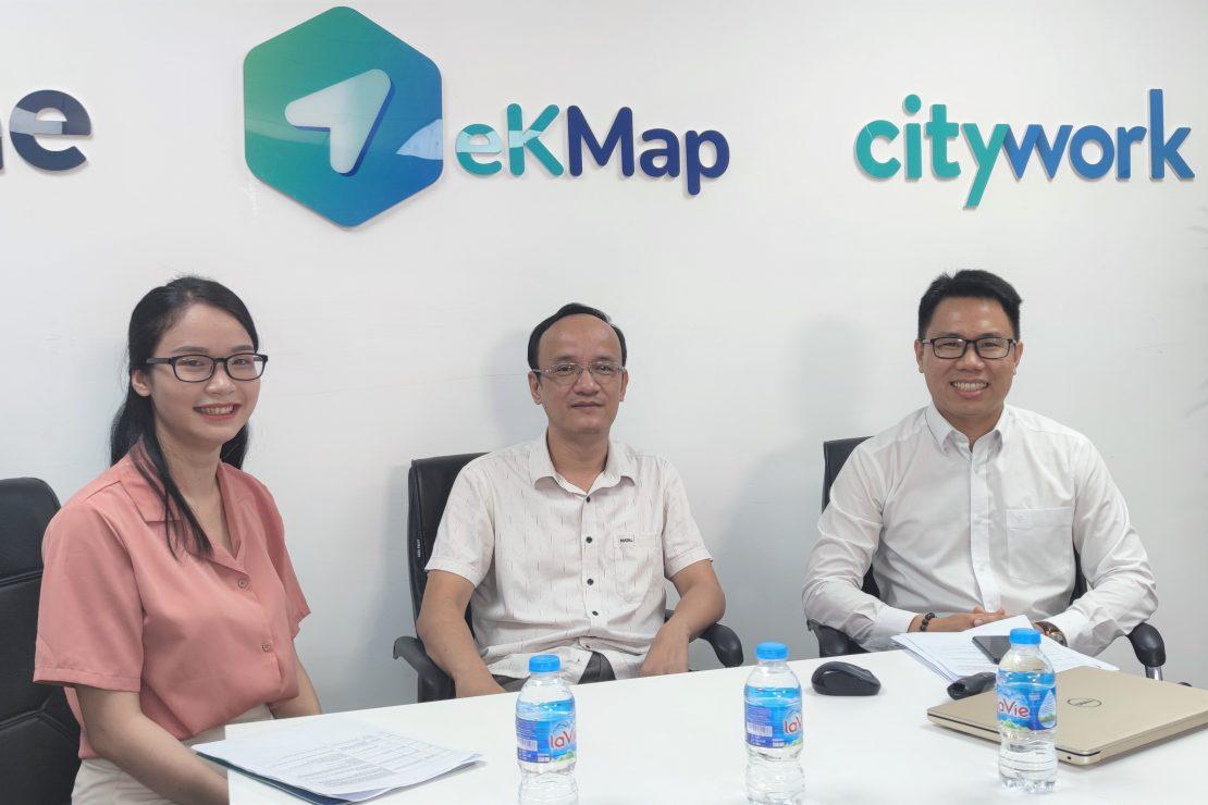 """[Dân trí] Phần mềm """"thuần Việt"""" eKMap: Lựa chọn khác của ArcGIS"""