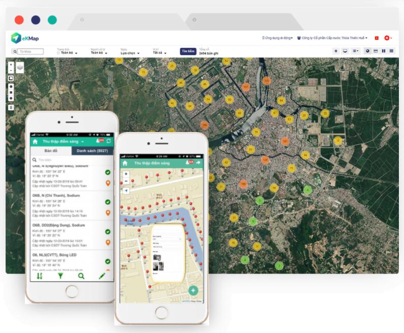 [Thương hiệu & Công luận] Ứng dụng công nghệ eKMap thành lập bản đồ số độ chính xác cao