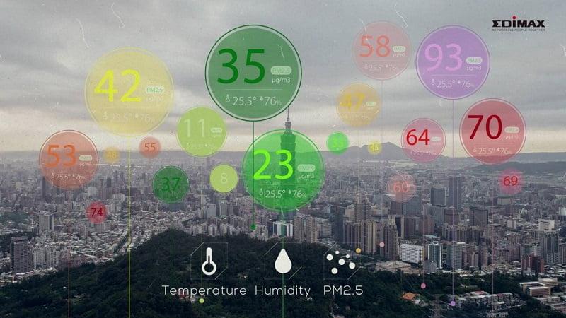 Hệ thống tích hợp GIS sử dụng cảm biến IoT để giám sát và phân tích chất lượng không khí
