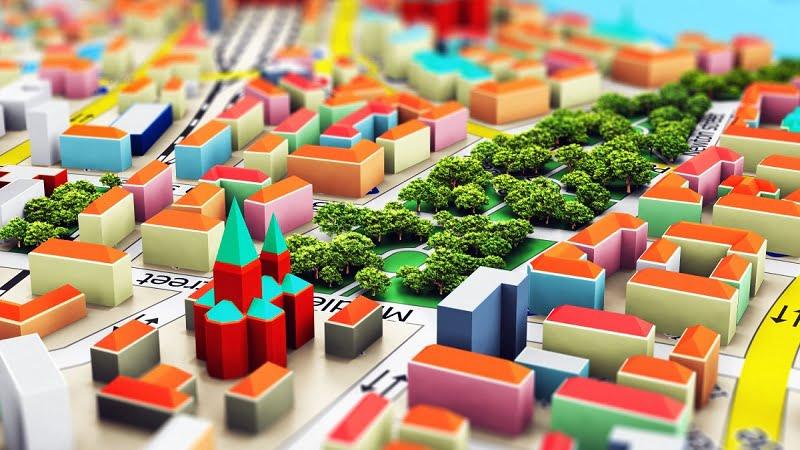 Vai trò và nhiệm vụ của bản đồ quy hoạch đô thị