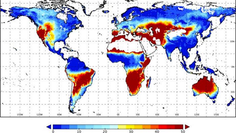Phân tích biến đổi khí hậu bằng công nghệ GIS