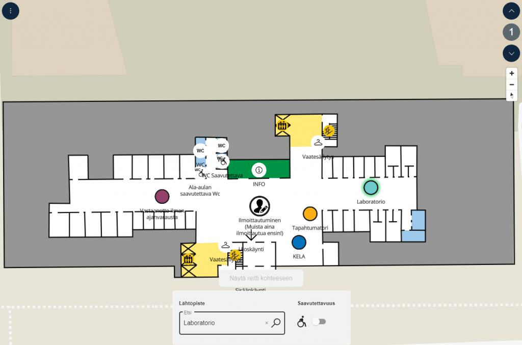 Bản đồ trong nhà